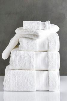 White Egyptian Cotton Towels