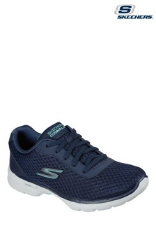 Skechers Blue Go Walk 6 Iconic Vision Shoes