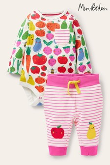 Boden Pink Body And Leggings Set