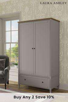 Eleanor 2 Door 1 Drawer Wardrobe by Laura Ashley