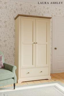 Laura Ashley Oakham 2 Door 1 Drawer Wardrobe