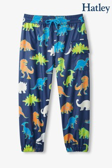 Hatley Blue Linework Dinos Colour Changing Splash Pants