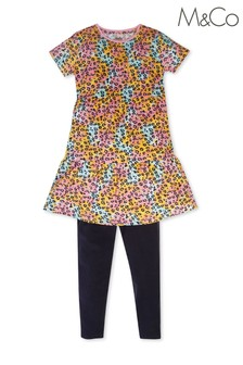 M&Co Two Pack Animal Dress Set