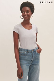 Jigsaw Supima Cotton Short Sleeve T-Shirt