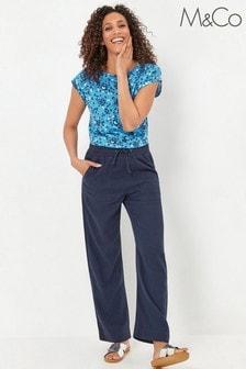 M&Co Linen Trousers