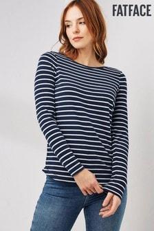 FatFace Breton T-Shirt