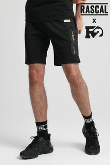 Rascal Mens Black Mission Shorts