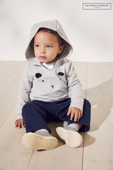The White Company Baby Bear Hoodie And Joggers Set