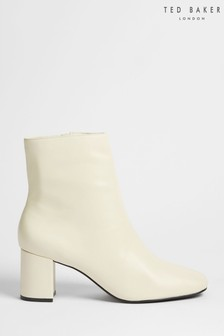 Ted Baker Neyomi Leather Block Heel Ankle Boots