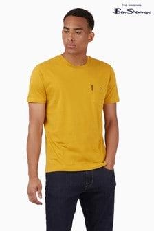 Ben Sherman Yellow Signature Pocket T-Shirt