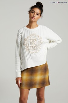 Tommy Hilfiger Natural Graphic Sweater