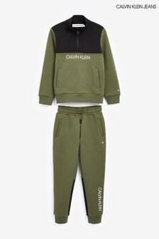Calvin Klein Colourblock Sweatpants Set