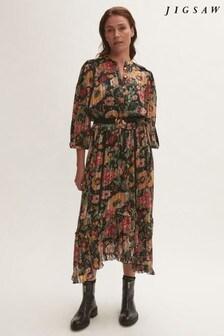 Jigsaw Wild Bouquet Maxi Dress