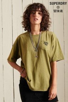 Superdry Vintage Embellished Boxy T-shirt