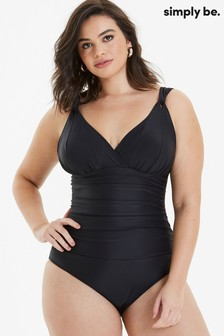 Simply Be Magisculpt Tummy Tuck Swimsuit - Longer Length