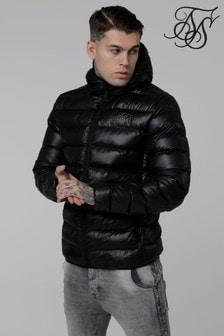 Sik Silk Hooded Padded Jacket