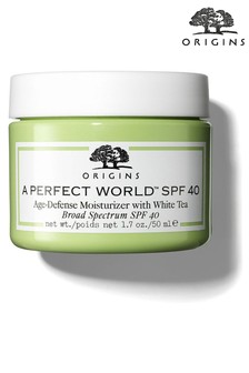 Origins A Perfect World Spf 40 Age-Defense Moisturiser With White Tea 50ml