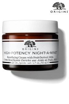 Origins High-Potency Night A Mins Resurface Cream