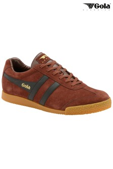 Gola Suede Trainers with Gum Sole
