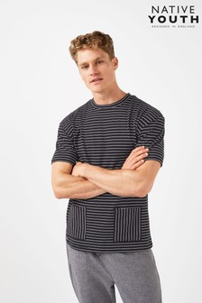 Native Youth Contrast Stripe T-Shirt