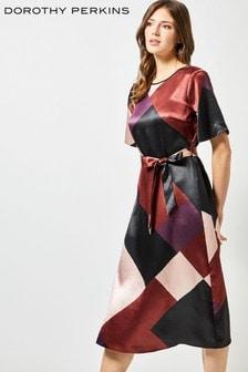 2944db98bfc Dorothy Perkins Colour Block Midi Dress