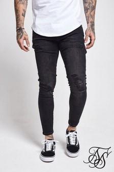 SikSilk Distressed Skinny Fit Jeans