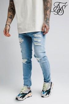 SikSilk Distressed Slim Fit Jeans