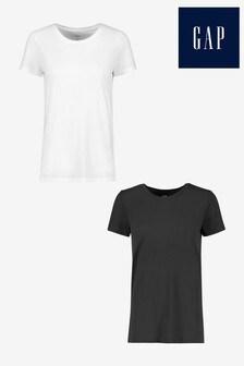 Gap 2 Pack Favorite Crewneck T-Shirt