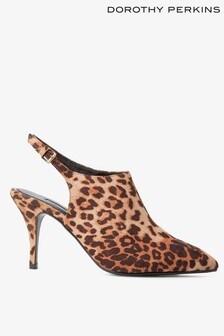 Dorothy Perkins Leopard Print Shoe Boots
