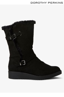 Dorothy Perkins Mini Wedge Boots