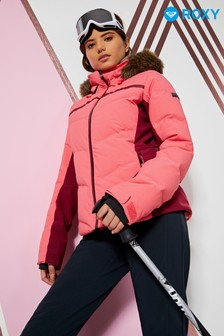 Roxy Snow Snowstorm Quilted Snow Jacket