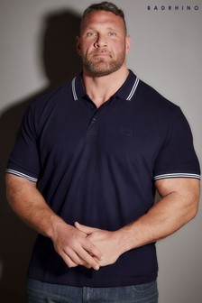 Bad Rhino Pique Tipping Polo Shirt
