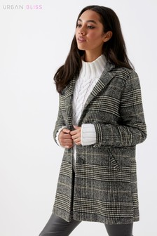 Urban Bliss Checked Formal Jacket