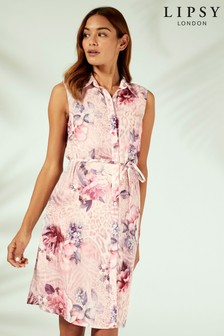 Lipsy Shirt Beach Dress