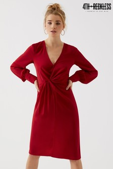 4th & Reckless Knot Front Dress