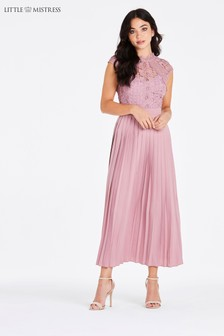 9220c2ea1d Little Mistress Lace Top Dress