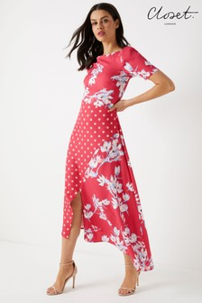 Closet Asymetic Hem Dress