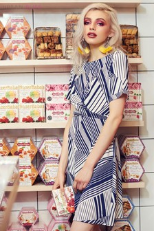 Urban Bliss Stripe Tea Dress