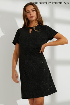 Dorothy Perkins Glitter Shift Dress