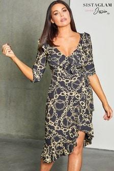 Sistaglam Loves Jessica Midi Dress