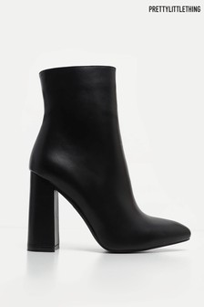 PrettyLittleThing Heeled Ankle Boots