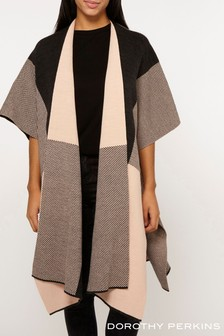 Dorothy Perkins Check Stripe Cape