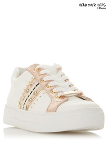 Head Over Heels Stud Lace Up Trainer