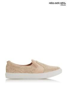 Head Over Heels Flatform Shoe