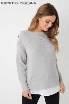 Dorothy Perkins Petite 2-In-1 Jumper