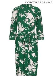 Dorothy Perkins Petite Floral Tie Dress