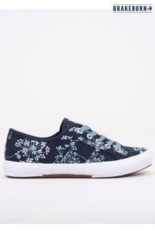 Brakeburn Cow Parsley Lace Up Trainers
