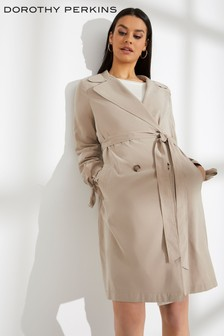 Dorothy Perkins Button Mac Coat