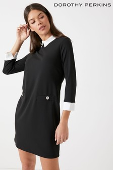 Dorothy Perkins Collar Shift Dress