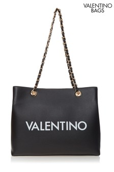 Mario Valentino Logo Tote Bag